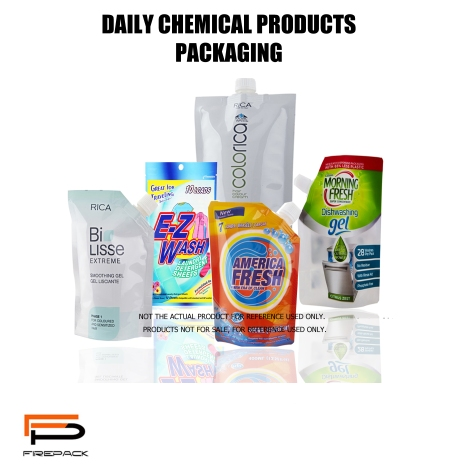 DAILY CHEMICAL PRODUCTS PACKAGING