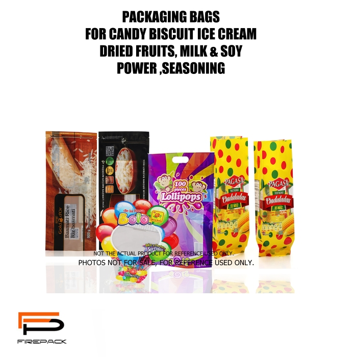 PACKAGING OR CANDY AND BISCUIT