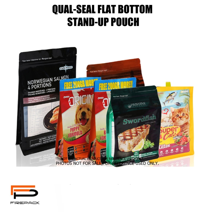 QUAL SEAL BOTTOM STAND UP POUCH