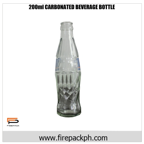 200ml Carbonated beverage bottle