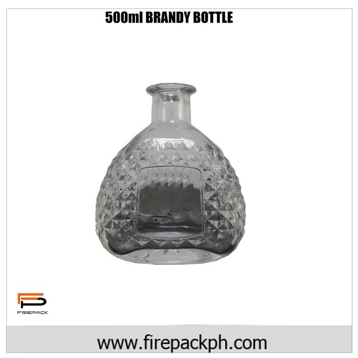 500ml brandy bottle 2
