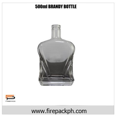 500ml brandy bottle