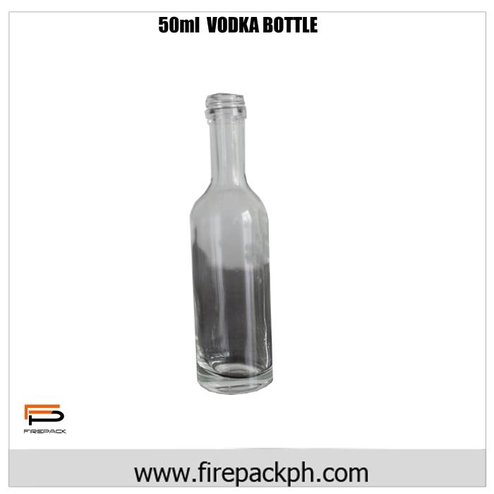 50ml Vodka bottle