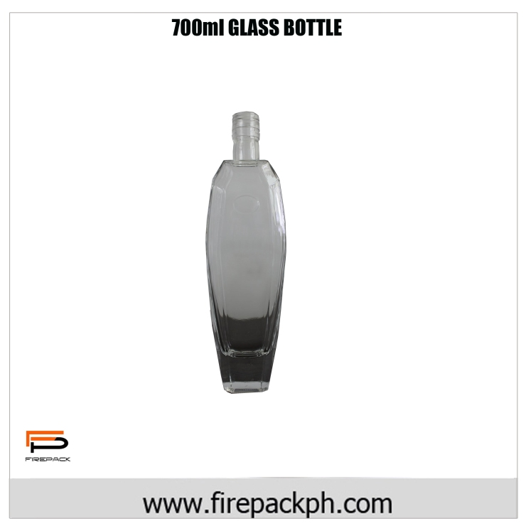700ml glass bottle