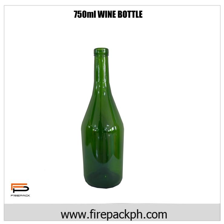 750 ml wine bottle