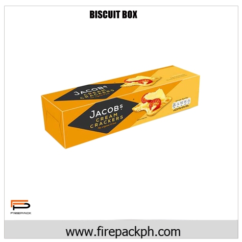 biscuit box rectangular claycoat