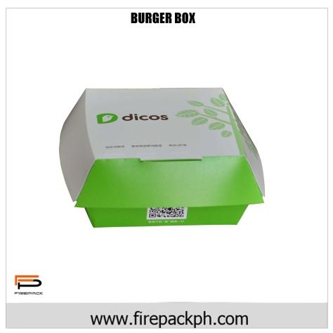 burger box carton