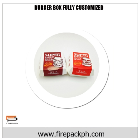 burger box customized