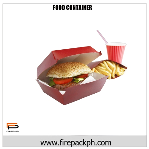 burger box food container