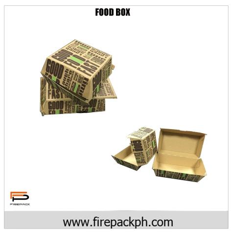 burger food box