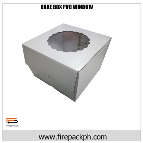cake box pvc window claycoat 2