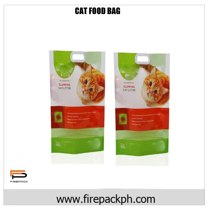 CAT FOOF BAG LAMINATED DESIGN