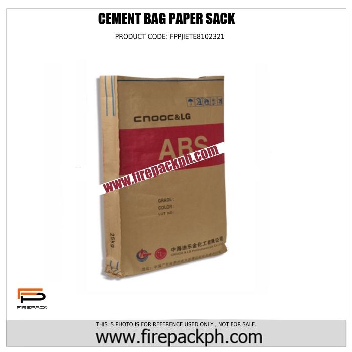 cement paper sack supplier cebu