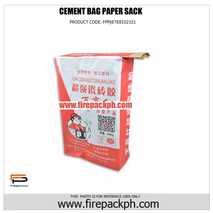 cement paper sack