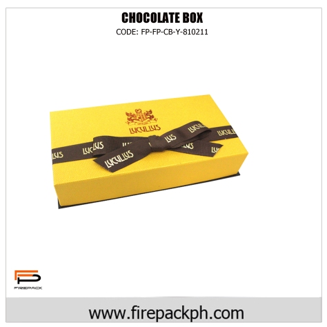 chocolate box yellow