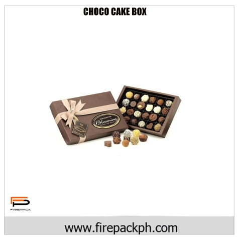 chocolate full custom carton