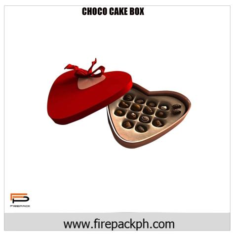 chocolate heart carton