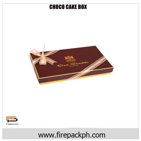chocolate ribbon carton claycoat