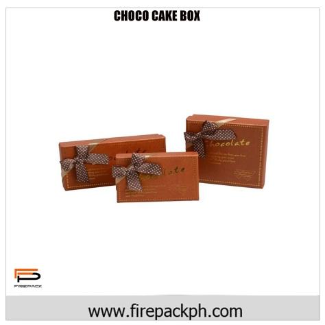 chocolate ribbon carton