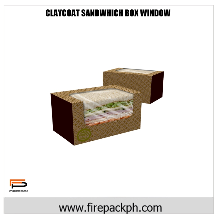 claycoat sandwhich box window rec