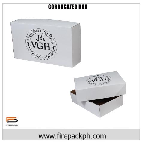 corrugated box for halal