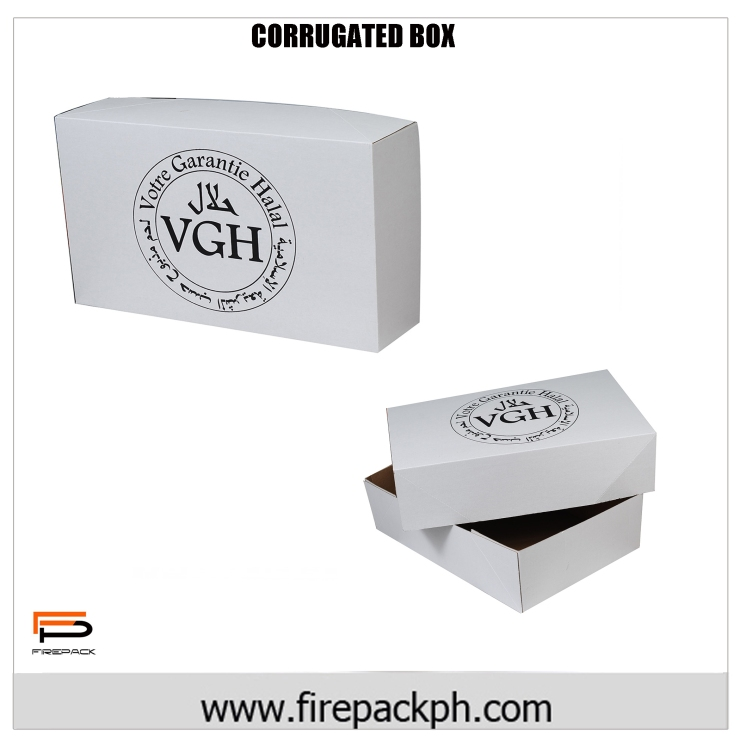 corrugated box for halal
