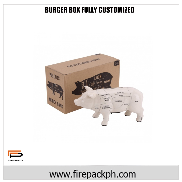 corrugated box meat