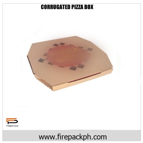 CORRUGATED PIZZA BOX FULL COLOR DESIGN