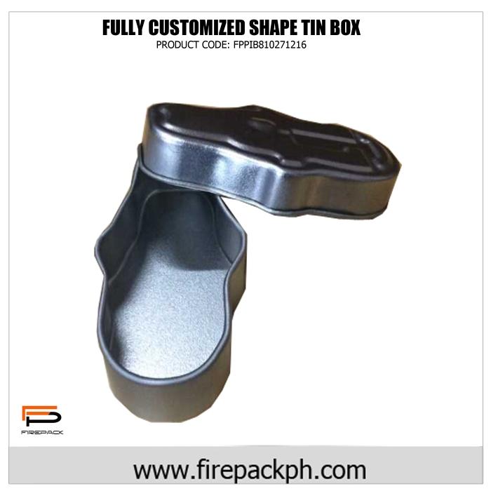 customized tin box shape