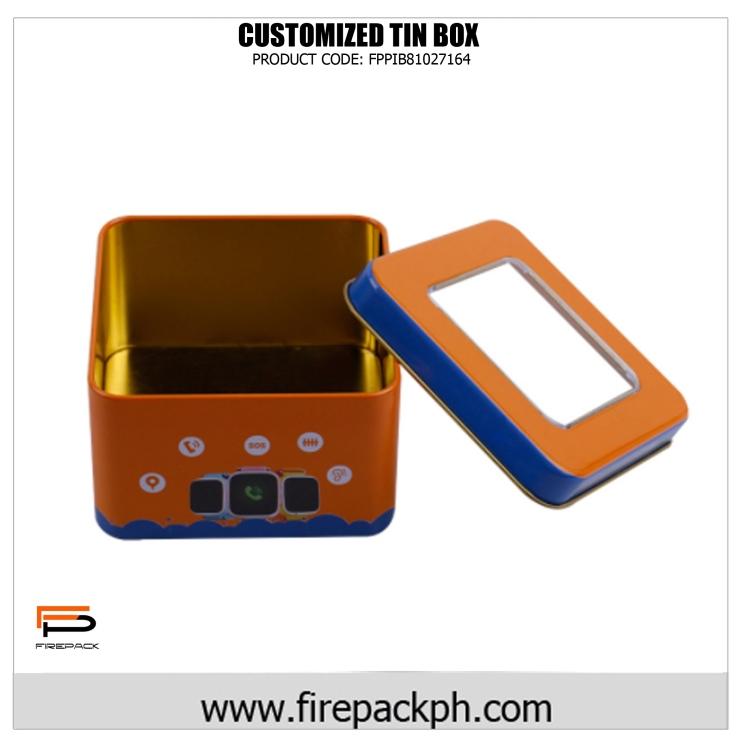 customized tin box