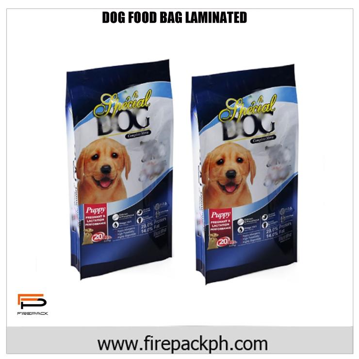 DOG FOOD BAG LAMINATED