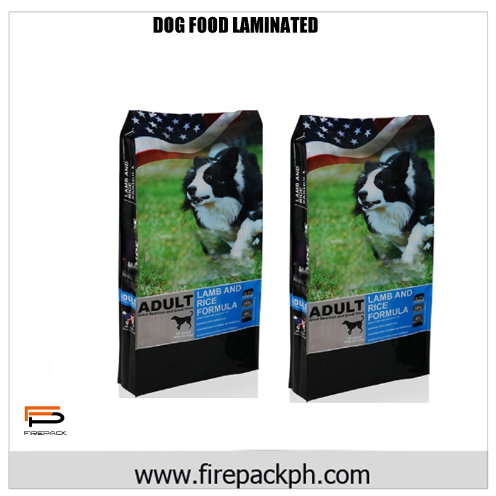 DOG FOOD LAMINATED PLASTIC