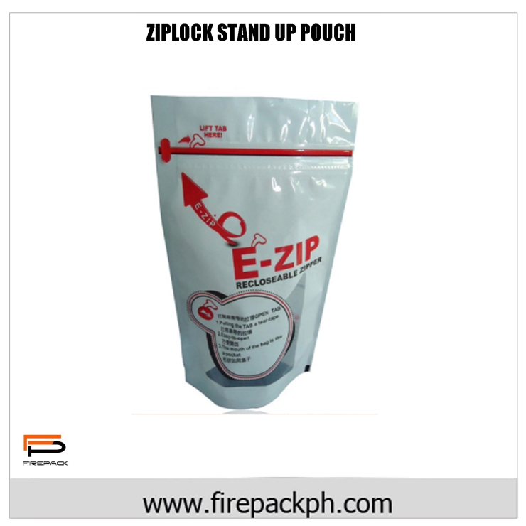 EASY OPEN STAND UP POUCH