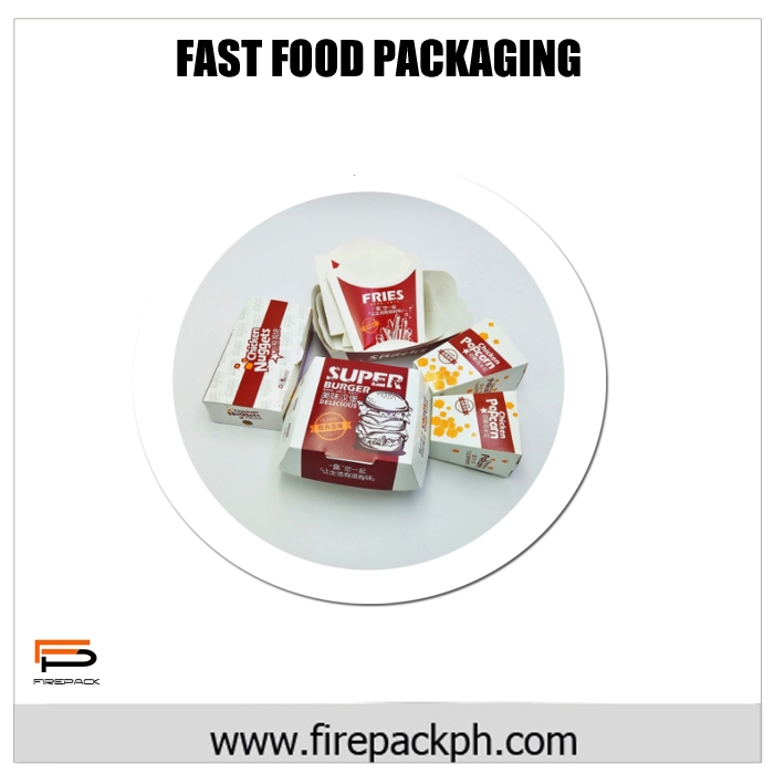fast food packaging box