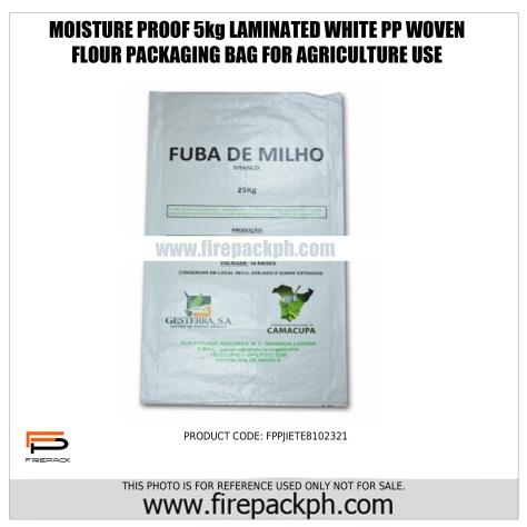 flour laminated sack pp woven