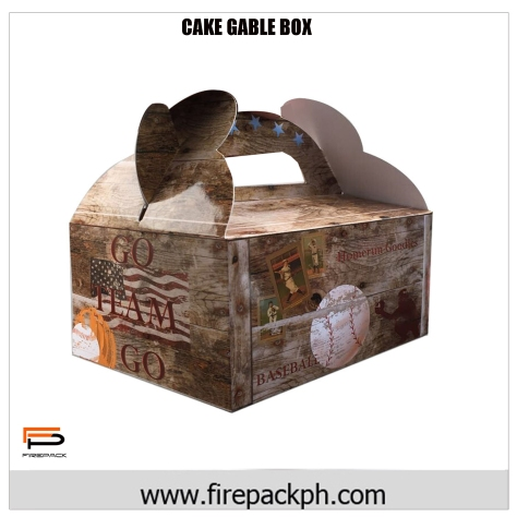 gable box fulll color wood CARTON