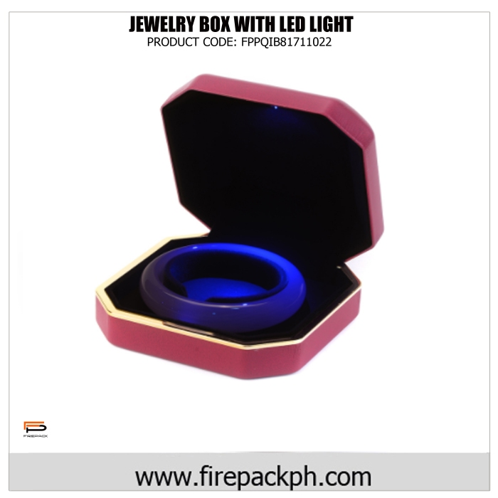 jewelry with led light pink
