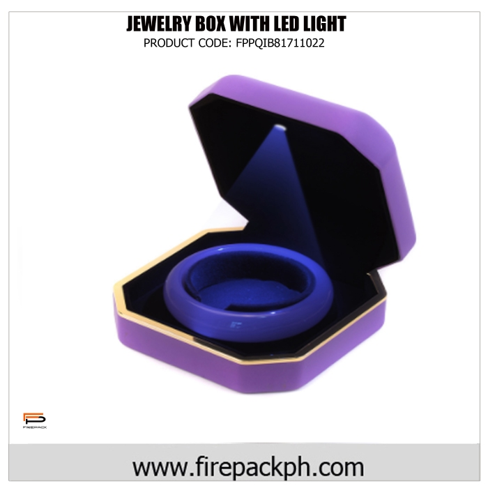 jewelry with led light violet