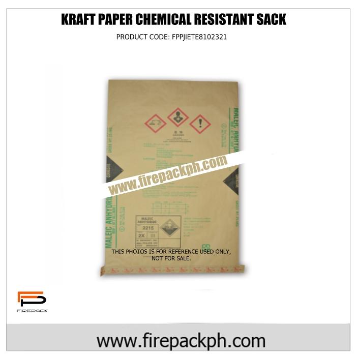 kraft paper chemical resitant sack maker