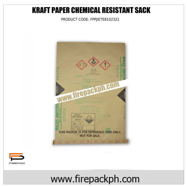 kraft paper chemical resitant sack maker
