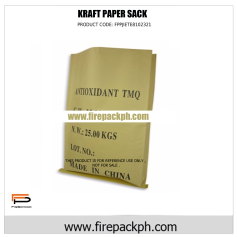 kraft paper sack for cement