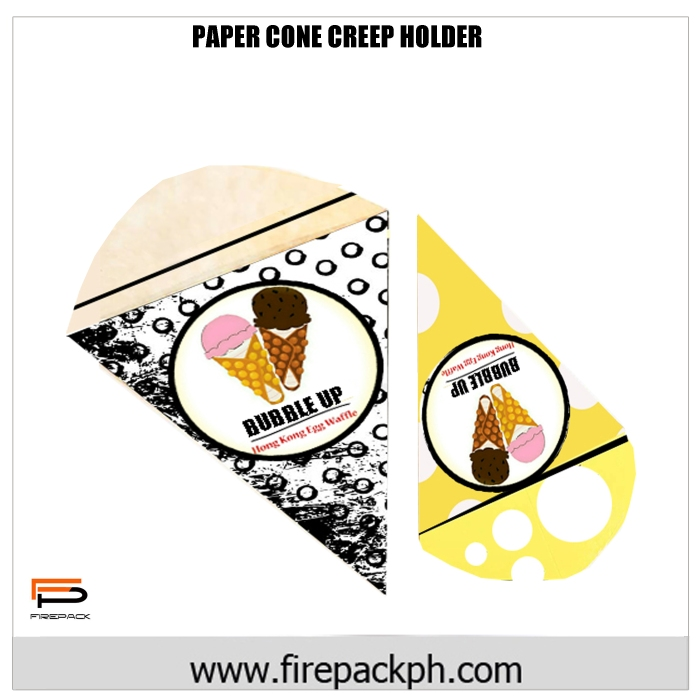 PAPER CONE CREEP HOLDER