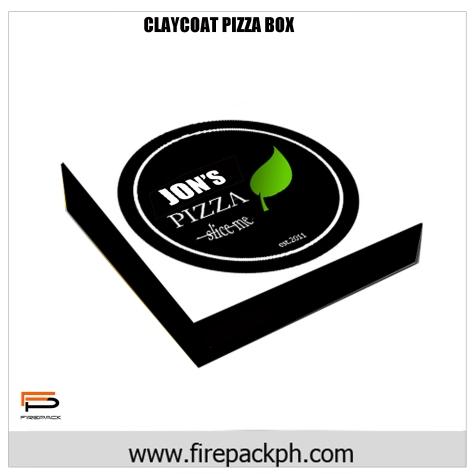 PIZZA BOX CLAY COAT