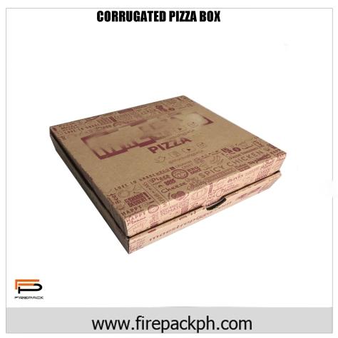 PIZZA BOX CORRUGATED