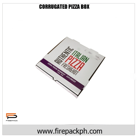 PIZZA BOX KRAFT CORRUGATED
