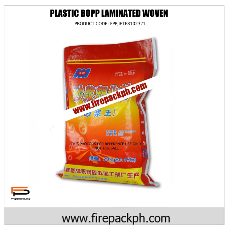 plastic bopp laminated sack supplier cebu