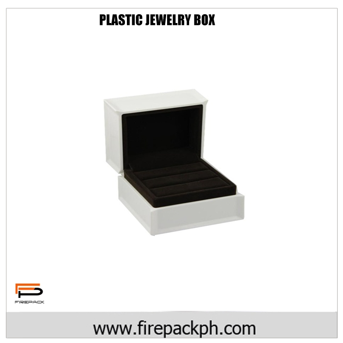 plastic packaging box for jewelry