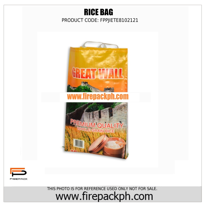 pp rice sack supplier philippines