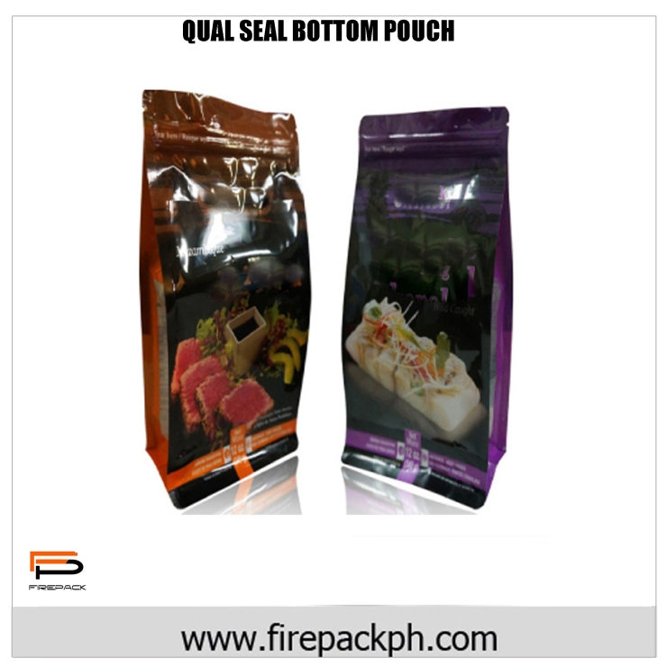 QUAL SEAL BOTTOM POUCH NEW