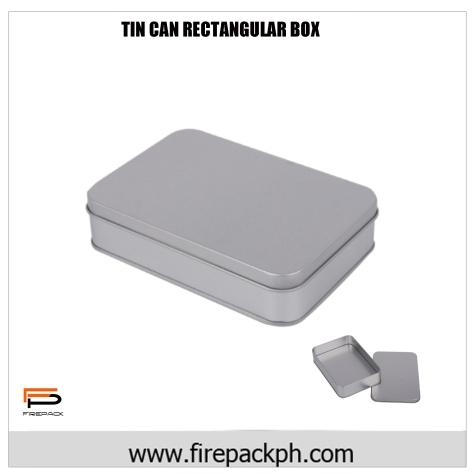 rectangular tin can